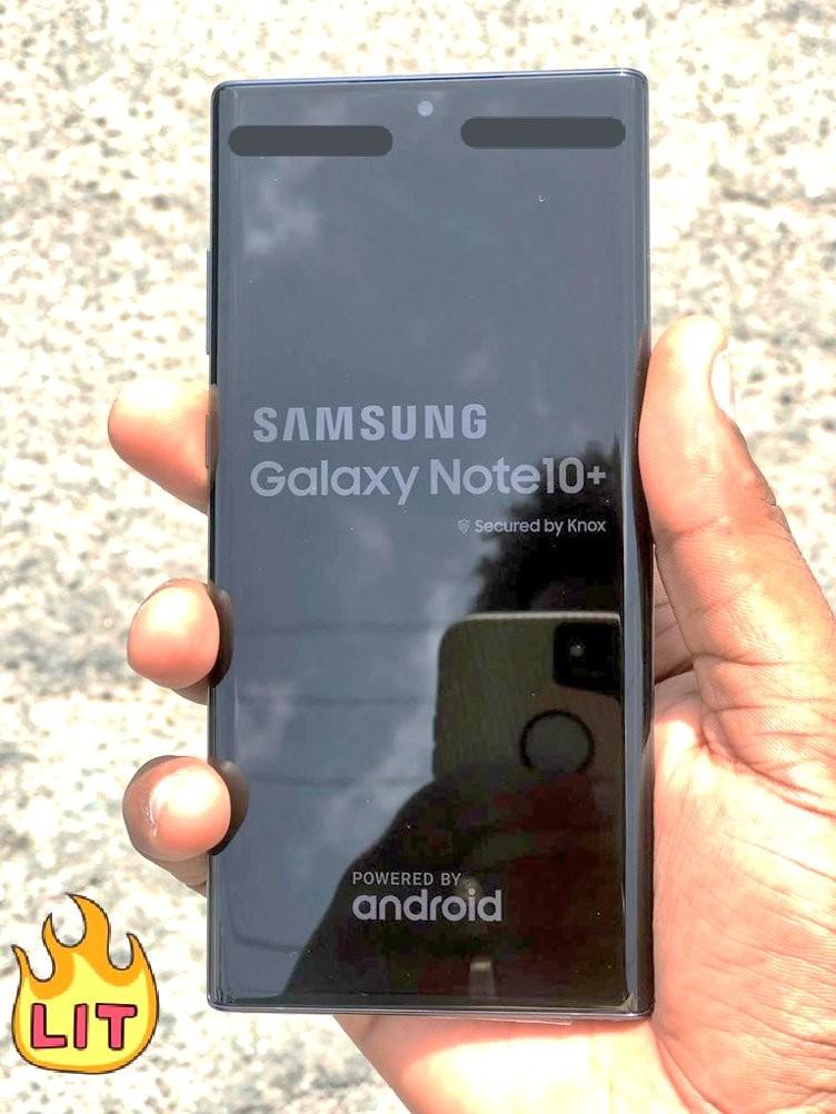 تسرب يظهر من المفترض سامسونج Galaxy Note  10+ و 2019 iPhone XR 2