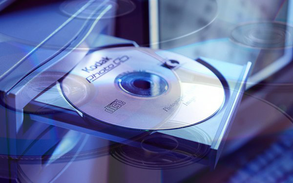 اختبار تشغيل محرك الأقراص CD / DVD