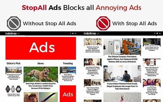 تقليل وجود الإعلانات