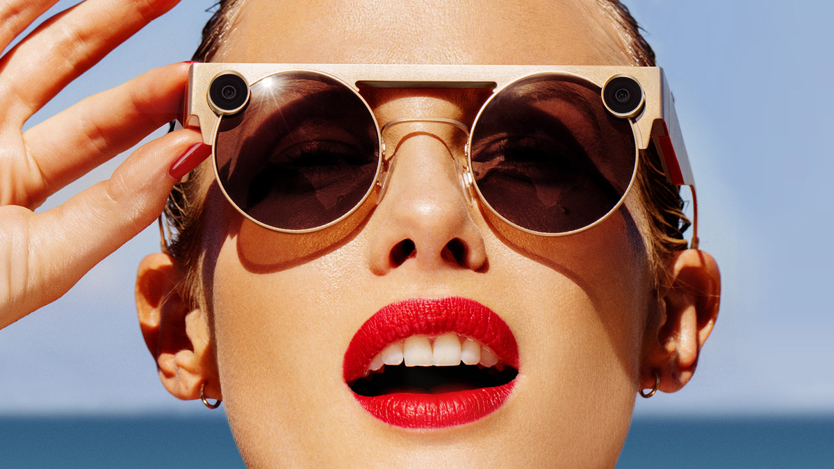 أعدت Snap's Spectacles 3 كاميرات HD مزدوجة لتأثيرات ثلاثية الأبعاد 1