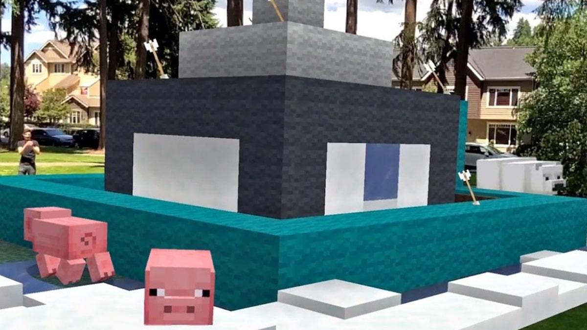 أعلنت Minecraft Earth ، لعبة الواقع المعزز لـ Minecraft Closed Beta 1