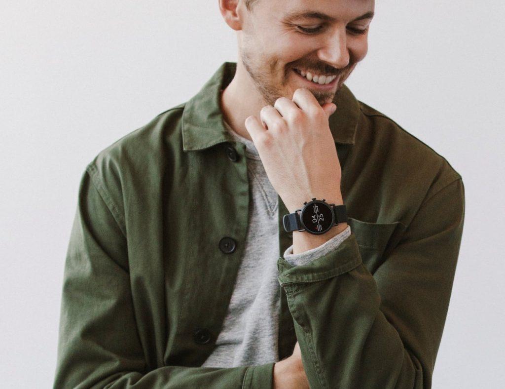 أفضل تصميمات ساعة ذكية بسيطة لعام 2019 - Skagen Falster 2 03