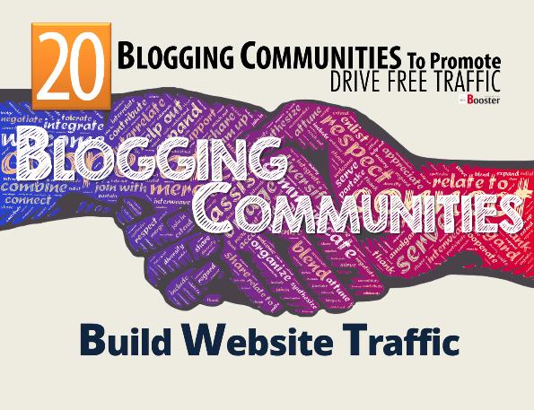 المجتمعات التدوين لتعزيز حملة زيادة حرية المرور إلى موقع الويب الخاص بك