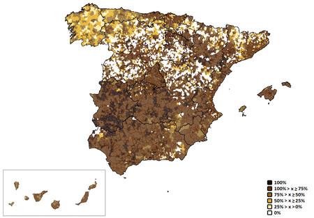خريطة اسبانيا البطيئة 2