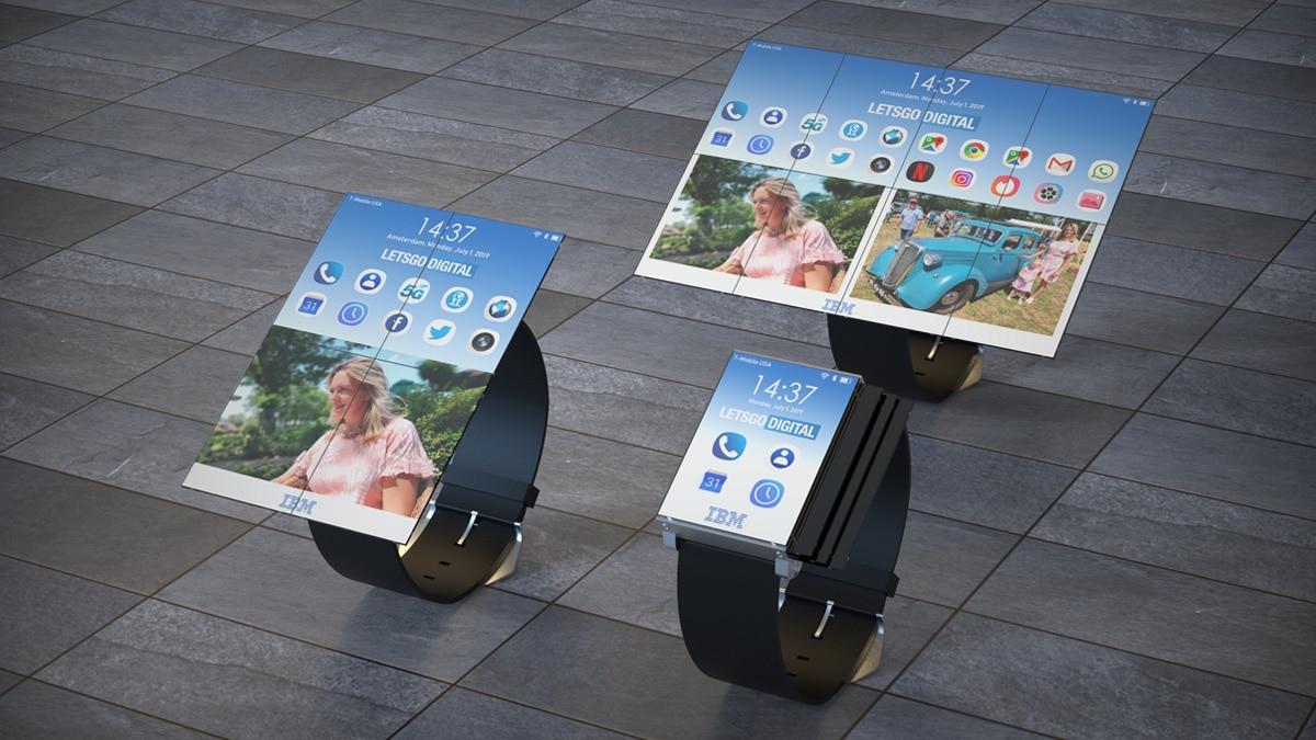 استخدم ساعة ذكية IBM الجديدة أيضًا كهاتف ذكي أو جهاز لوحي 1