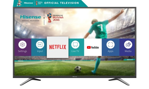 تطبيقات هيسنس التلفزيون الذكية