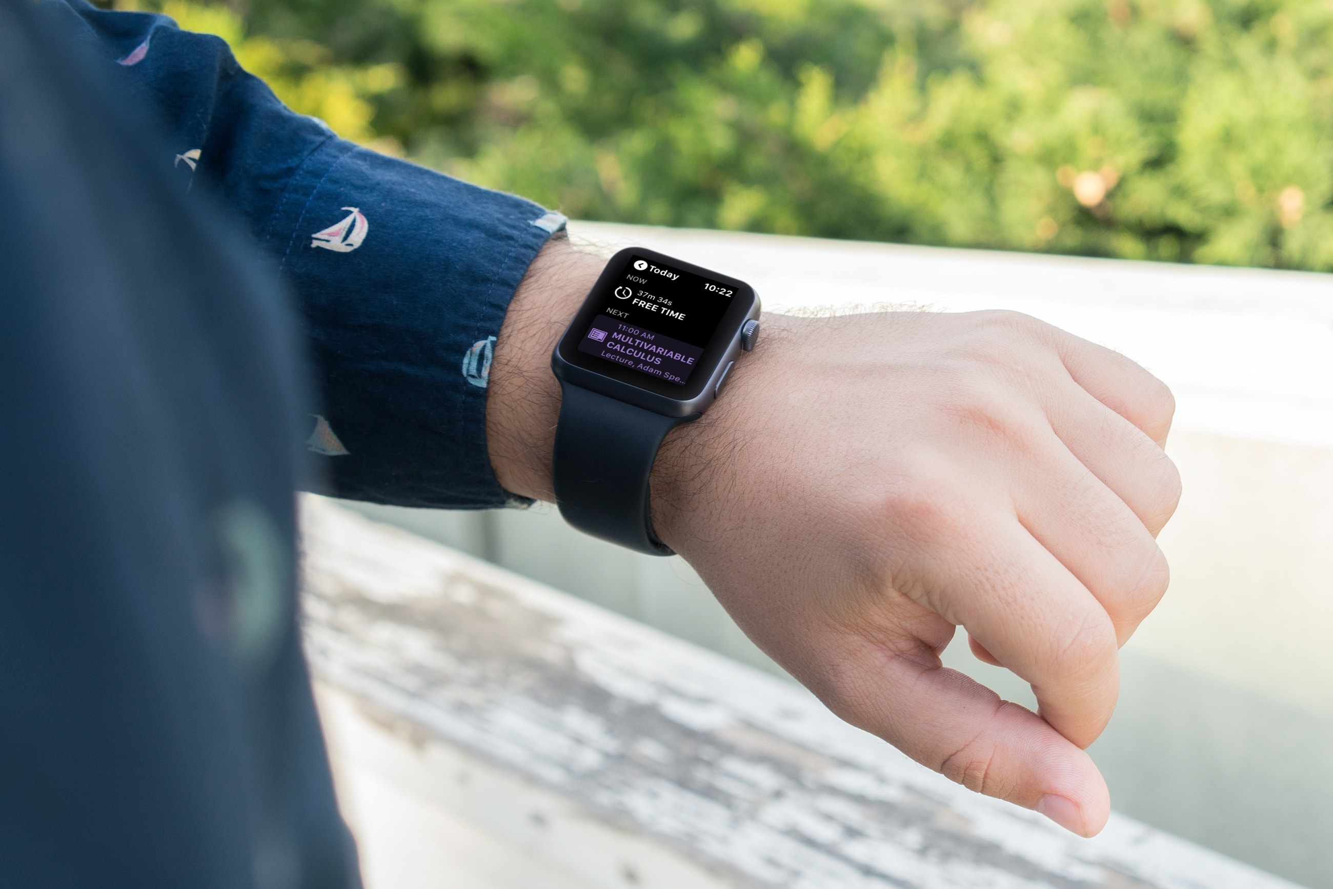 Apple Watch  تطبيقات لتخطيط الطلاب