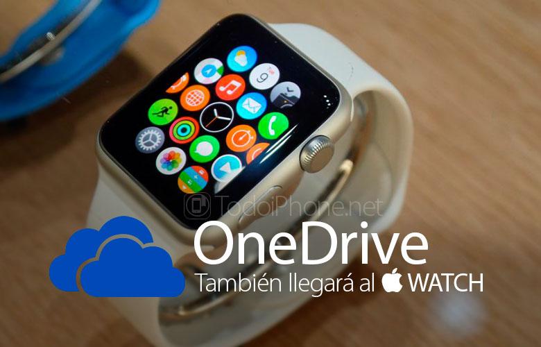 ال Apple Watch سيكون لديك أيضًا تطبيق Microsoft OneDrive 1