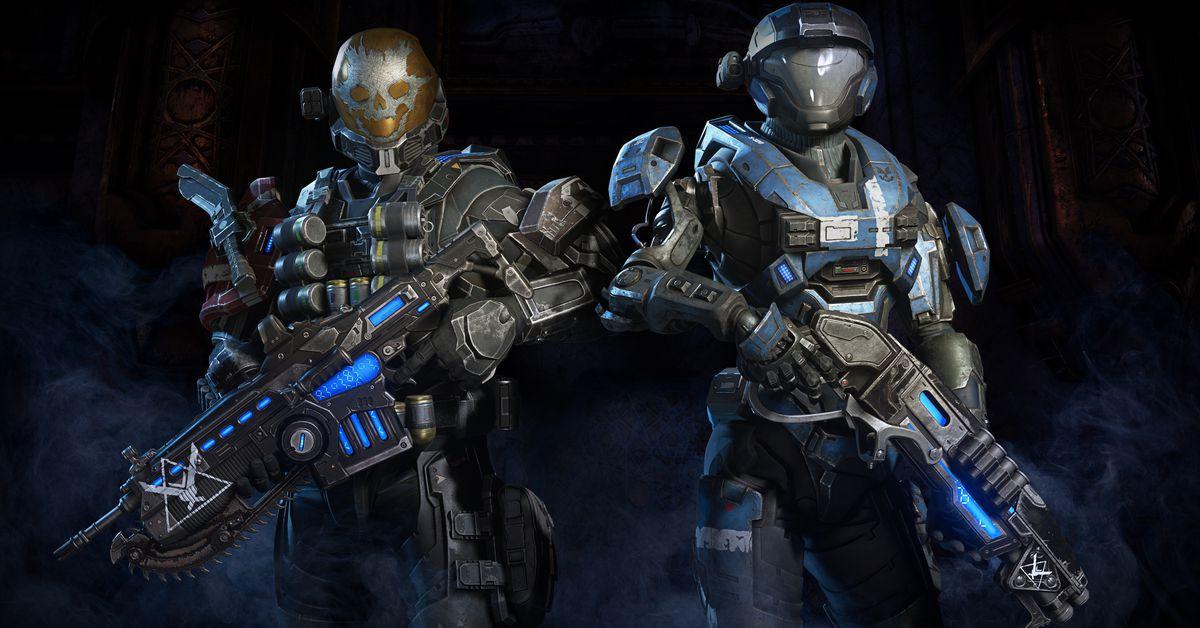 تأتي شخصيات Halo إلى Gears 5 1