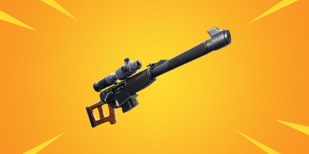 Fortnite  سلاح - بندقية قنص التلقائي