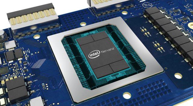 تفاصيل Intel بطاقات الاستدلال والتدريب الخاصة بـ Nervana 1
