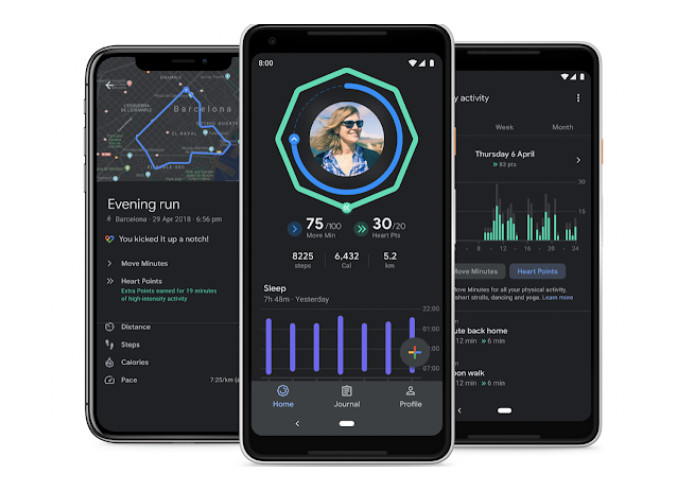 تم تعيين تطبيق Google Fit لتلقي الوضع المظلم ومتعقب النوم المحسّن والمزيد 1