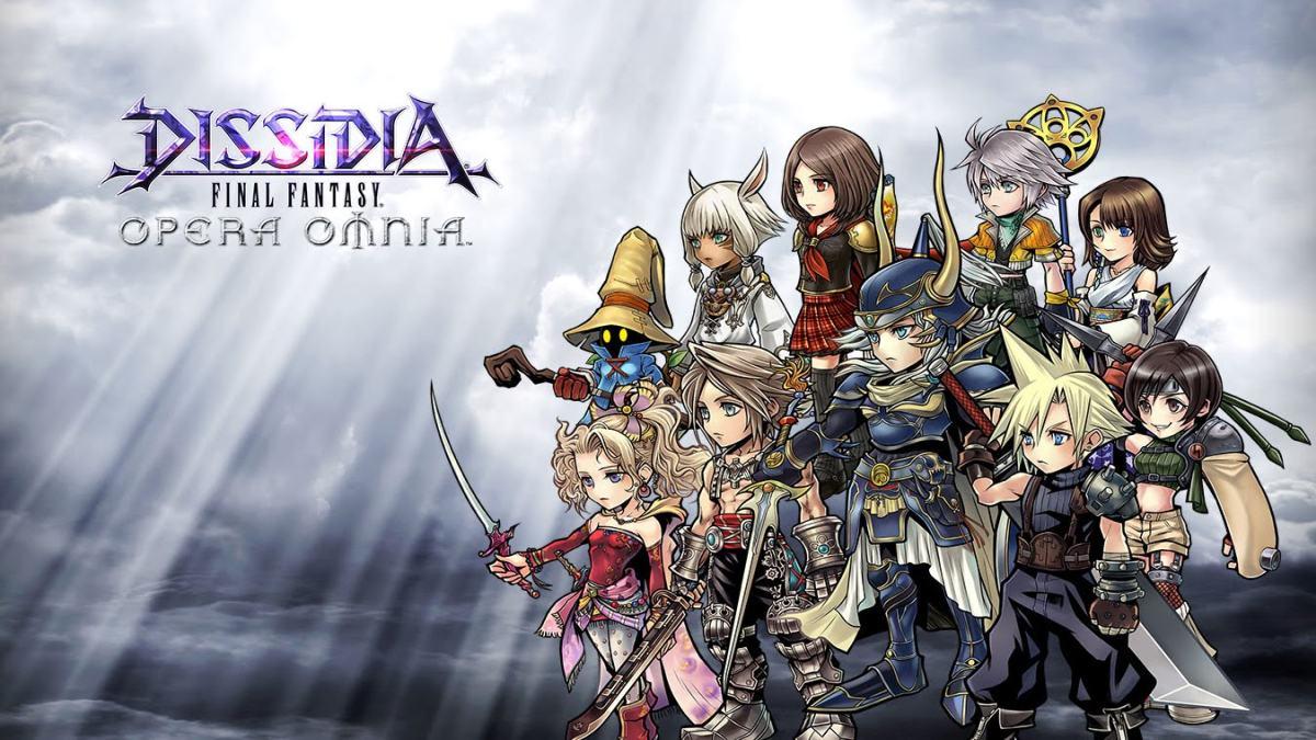 دليلك المرجعي السريع إلى Dissidia Final Fantasy Opera Omnia 1