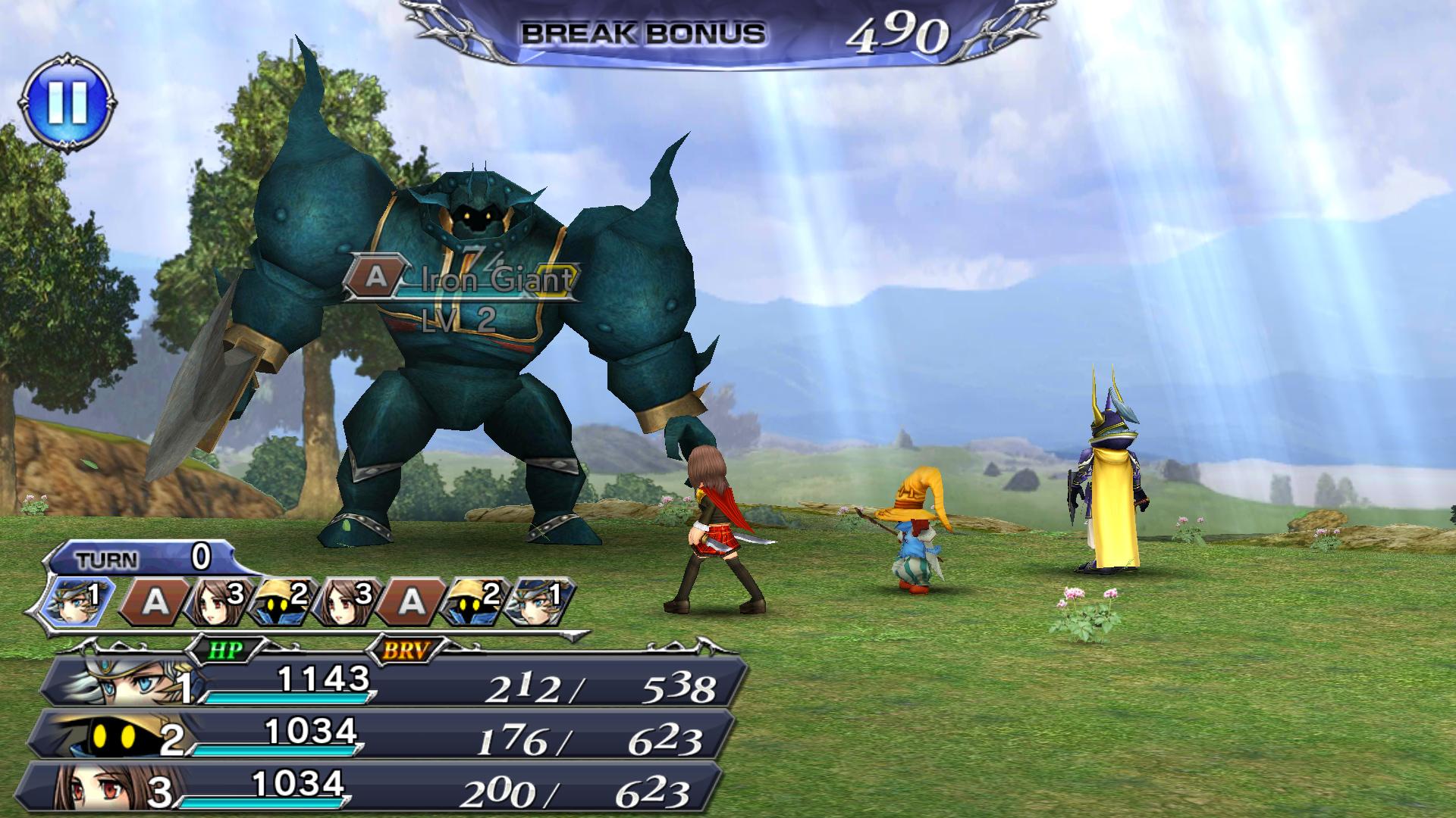 دليلك المرجعي السريع إلى Dissidia Final Fantasy Opera Omnia 2