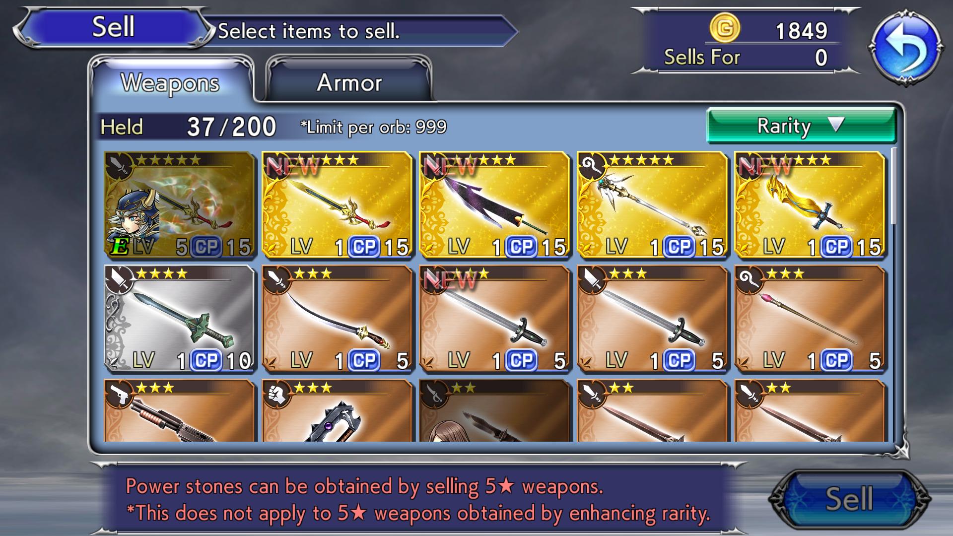 دليلك المرجعي السريع إلى Dissidia Final Fantasy Opera Omnia 5