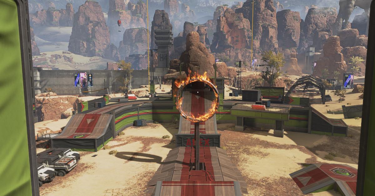 دليل Apex Legends Octane's Gauntlet Ring of Fire 1