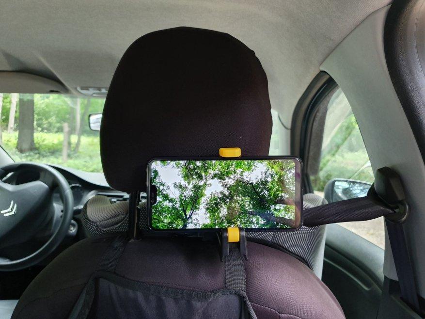 ربط عالمي ضخم ومريح في السيارة 1