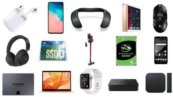 سامسونج Galaxy S10e ، دايسون V6 ، Apple Airpods ، مكبر صوت Bose ، والمزيد ... 1