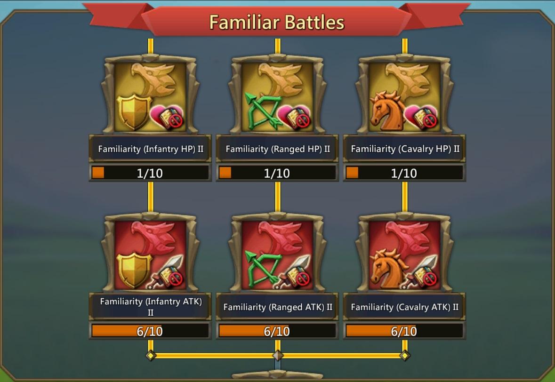 ستلعب عائلة Familiars الآن دورًا أكبر في الإستراتيجية الشائعة MMO Lords Mobile 1