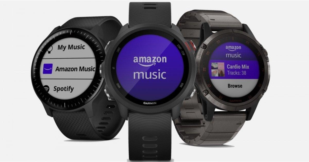 سوف الساعات غارمين تلعب الآن لطيفة مع Amazon موسيقى 1