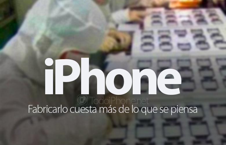 صنع iPhone يكلف أكثر مما تعتقد 1