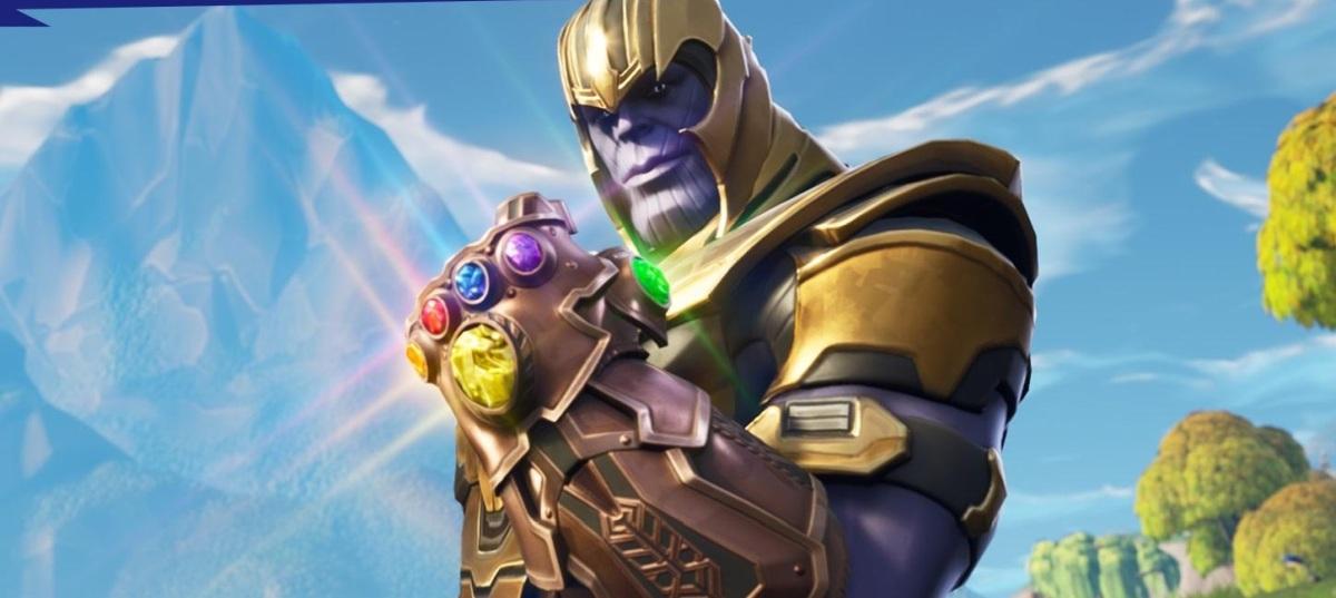 فيما يلي بعض التلميحات إلى Excel Against (و as) Thanos Fortnite: معركة رويال 1