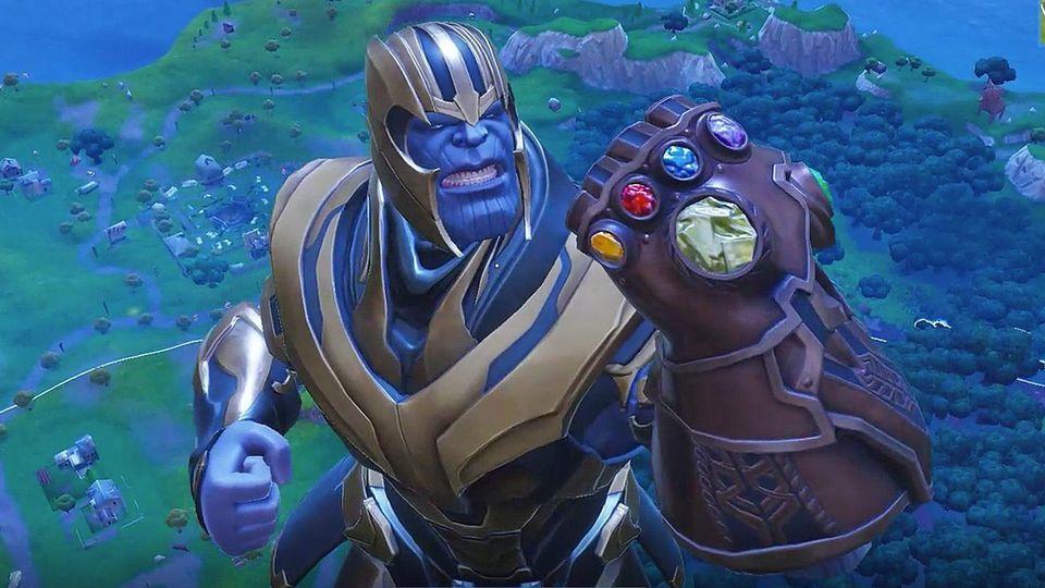 فيما يلي بعض التلميحات إلى Excel Against (و as) Thanos Fortnite: معركة رويال 4