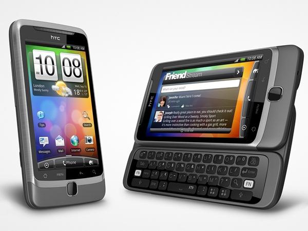 قم بتحديث HTC Desire Z إلى Android 4.1.1 CM10 1