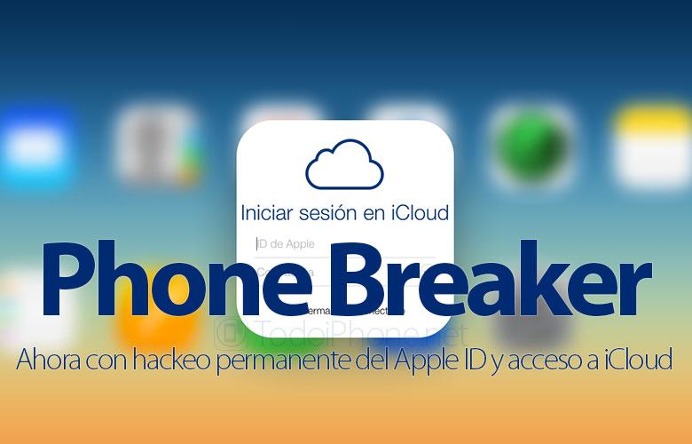 قواطع الهاتف ، والآن مع القرصنة الدائمة لل Apple معرف والوصول إلى iCloud 1