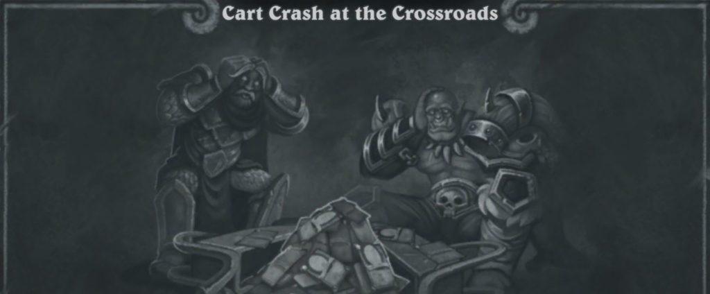 كل ما تحتاج لمعرفته حول Hearthstone Tavern Brawl هذا الأسبوع ، Cart Crash at the Crossroads - Application Gratuite 1