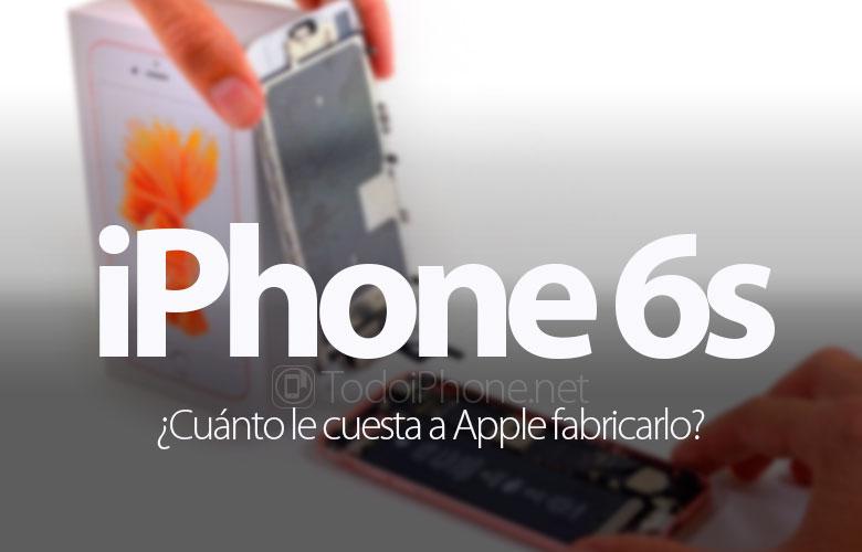 كم يكلف؟ Apple اصنع iPhone 6s؟ 1