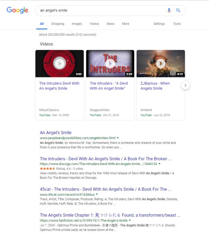 كيفية البحث عن فيديو موسيقي دون معرفة الاسم 1