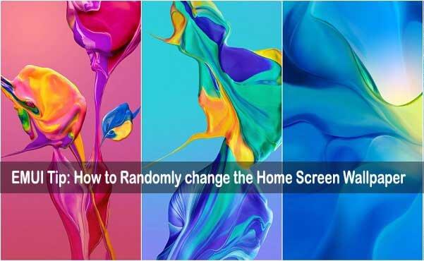 كيفية تغيير خلفية الشاشة الرئيسية بشكل عشوائي على أجهزة