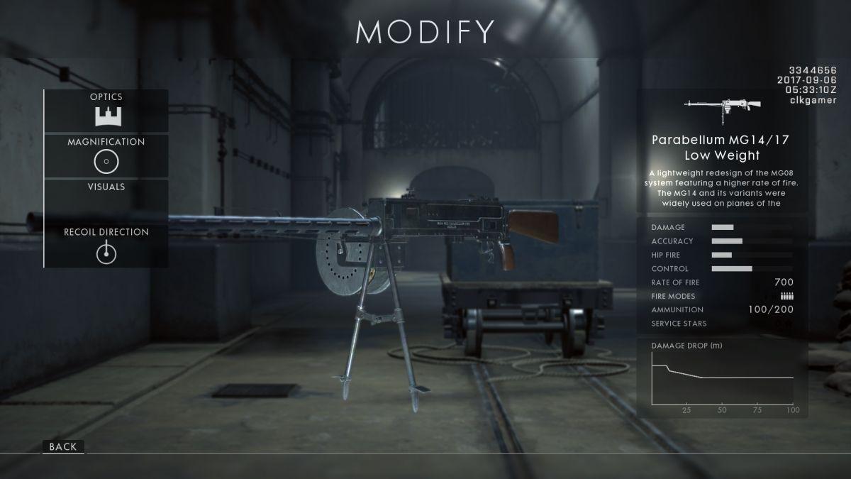 كيفية فتح كل بندقية جديدة في ساحة المعركة 1: باسم القيصر 1