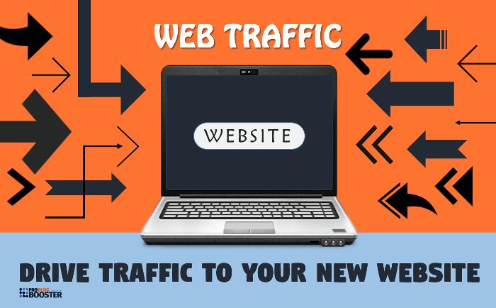 الحصول على حركة المرور إلى موقع الويب الخاص بك مجانا