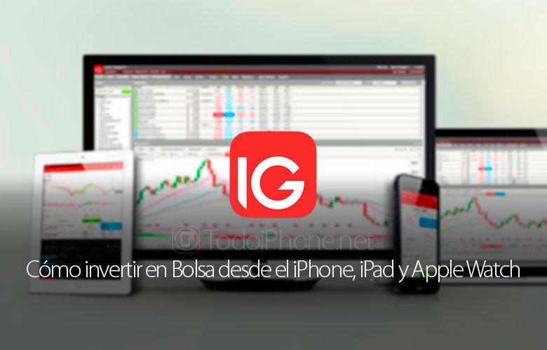 كيف تستثمر في البورصة من iPhone و iPad و Apple Watch 1