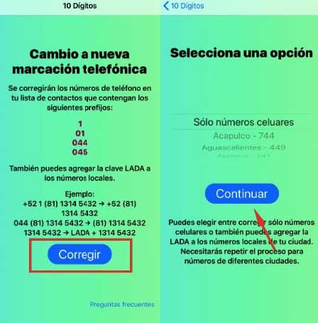 كيف يمكنك تغيير جميع الأرقام الخاصة بك بسهولة وبسرعة باستخدام الاتصال الجديد؟ 1