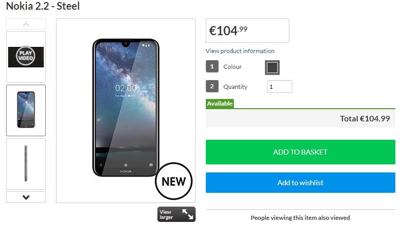 لدى Littlewood في المملكة المتحدة وإيرلندا أفضل سعر لـ Nokia 2.2 1