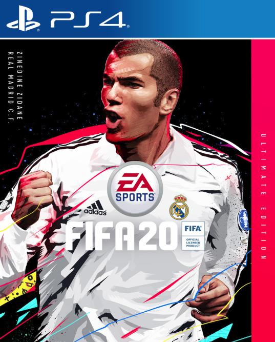 لعبة FIFA 20 التي تعرض زيدان على غلاف الإصدار النهائي ستأتي إلى PlayStation 4 ، Xbox One ، Nintendo Switch والكمبيوتر الشخصي في سبتمبر 3