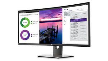 لمحة سريعة: مراجعة الشاشة المنحنية طراز UltraSharp U3419W من Dell 1