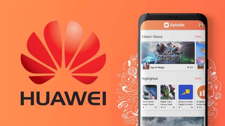 Huawei و Aptoide 0