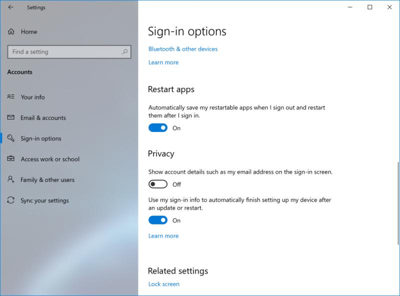 مايكروسوفت تختبر خيارا جديدا لإعادة التشغيل في Windows 10 1