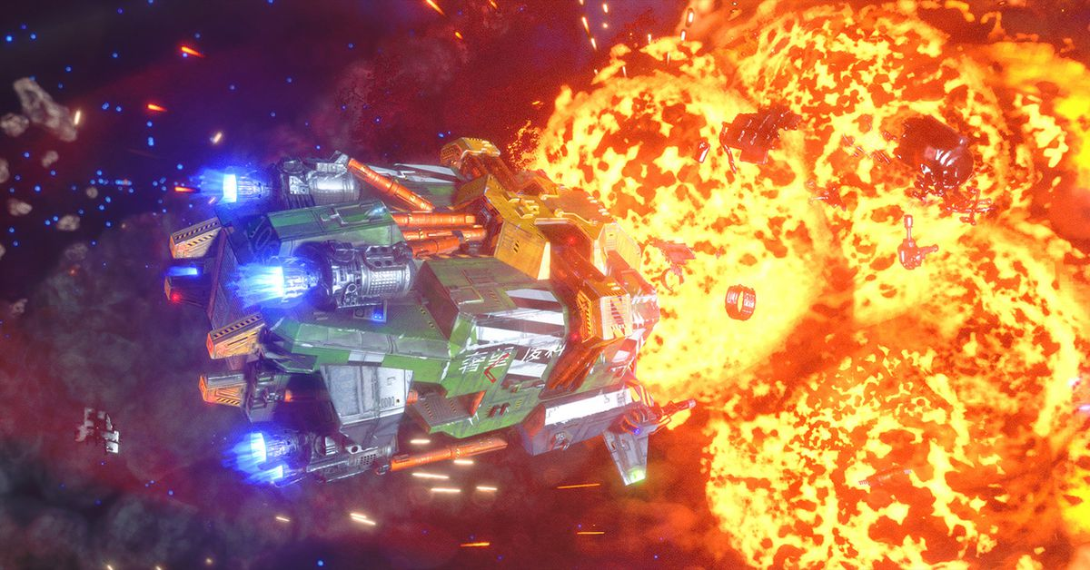 متمرد Galaxy الانطباعات الخارجة عن القانون: أكثر من مجرد محاكاة ساخرة لقائد الجناح 1