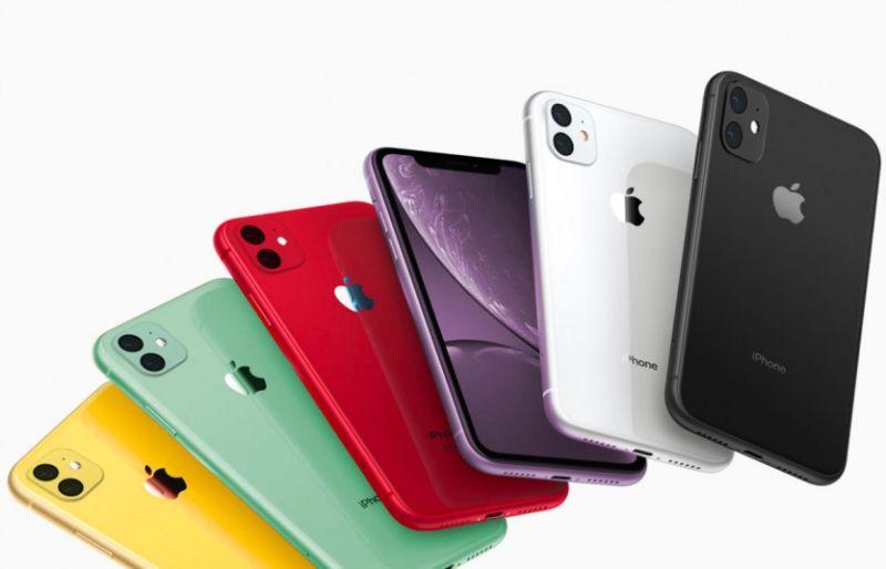 اي فون 11 الألوان