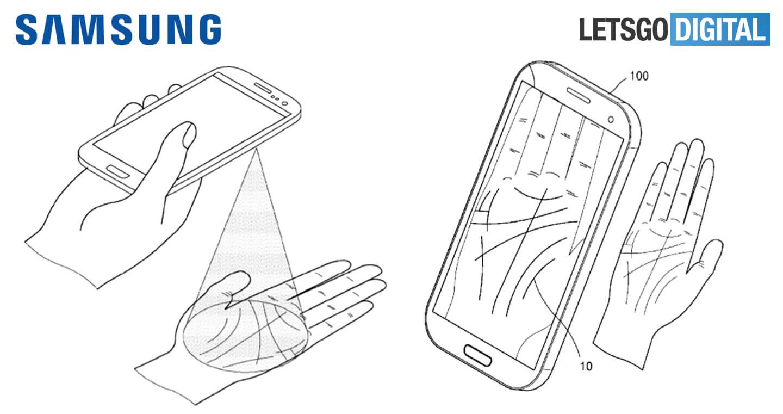 مستقبل Galaxy الهواتف لميزة سامسونج النخيل النخيل الاستشعار 1