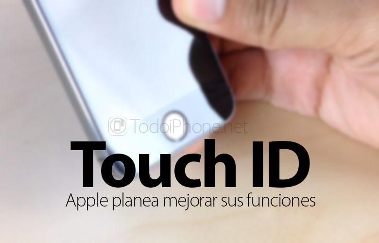 معرف اللمس: Apple يسجل براءة اختراع جديدة لتحسين وظائفه 1