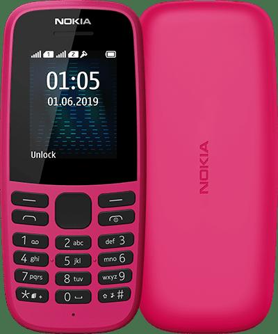 منح HMD براءة اختراع لتصميم Nokia 105 (2019) ؛ تصاميم جديدة متعددة مقدمة إلى EUIPO 1