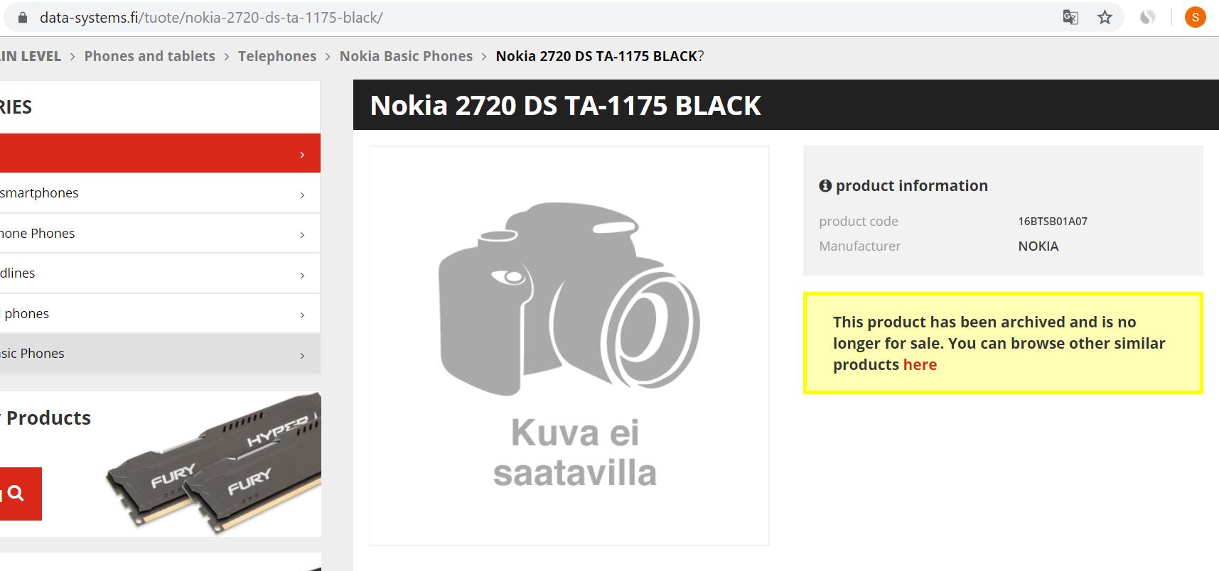 من المحتمل أن يتم الكشف عن سعر Nokia 2720 و Nokia 110 في فنلندا 3