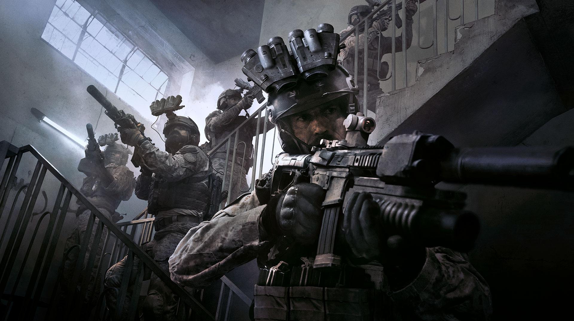 نداء الواجب: قائمة أسلحة الحرب الحديثة 1