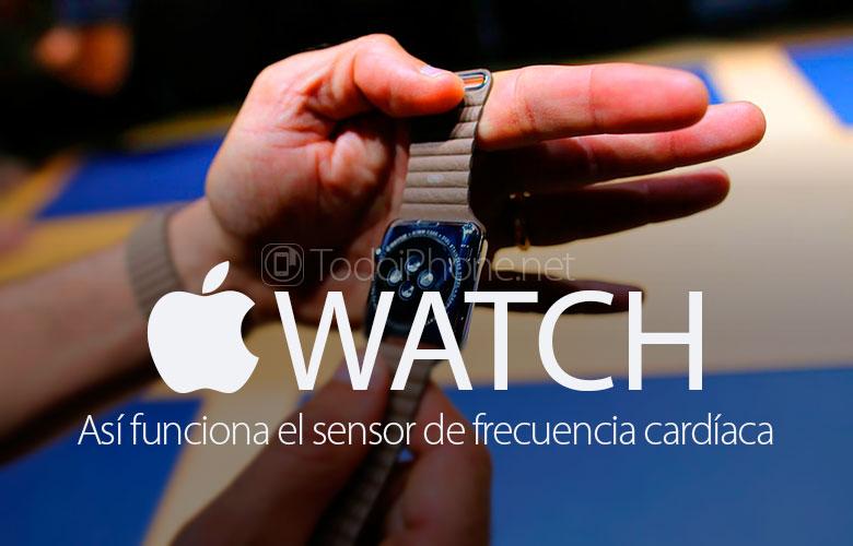 هذه هي الطريقة التي استشعار معدل ضربات القلب لل Apple Watch 1